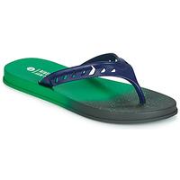 Schoenen Heren Slippers Rider JAM FLOW THONG Groen / Zwart / Blauw