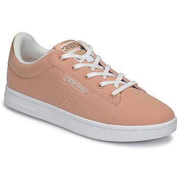 Schoenen Meisjes Lage sneakers Kappa TCHOURI LACE Roze / Wit