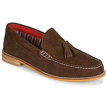 Schoenen Heren Mocassins Base London TEMPUS Brown