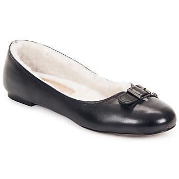 Schoenen Dames Ballerina's Keyté ASTOR Zwart
