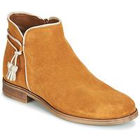 Schoenen Dames Laarzen André BILLY  camel