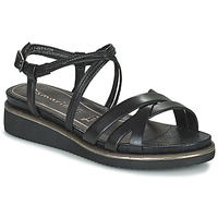 Schoenen Dames Sandalen / Open schoenen Tamaris EDA Zwart