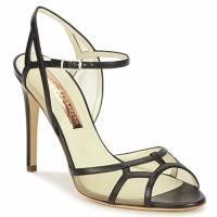 Schoenen Dames Sandalen / Open schoenen Rupert Sanderson TREEN Zwart / Beige