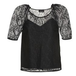 Textiel Dames Tops / Blousjes Kookaï BASALOUI Zwart