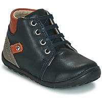 Schoenen Jongens Hoge sneakers André BAMBIN Marine