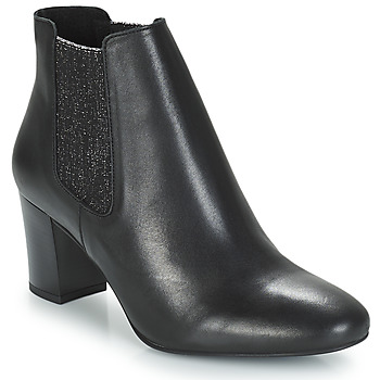 Schoenen Dames Laarzen André FONDANT Zwart