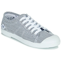 Schoenen Dames Lage sneakers Le Temps des Cerises BASIC 02 Blauw / Wit