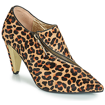 Schoenen Dames Enkellaarzen Lola Ramona RAMONA Leopard