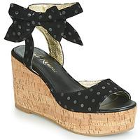 Schoenen Dames Sandalen / Open schoenen Lola Ramona NINA Zwart