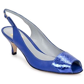 Schoenen Dames Sandalen / Open schoenen Fred Marzo LILI SLING Electric-blue