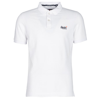 Textiel Heren Polo's korte mouwen Superdry CLASSIC PIQUE S/S POLO Wit