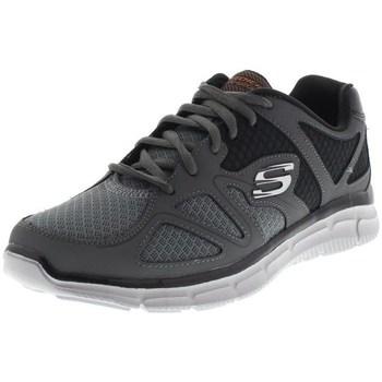 Schoenen Heren Lage sneakers Skechers Satisfaction Flesh Point Noir