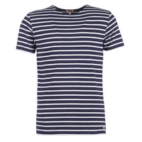 Textiel Heren T-shirts korte mouwen Armor Lux TALOPO Marine / Wit