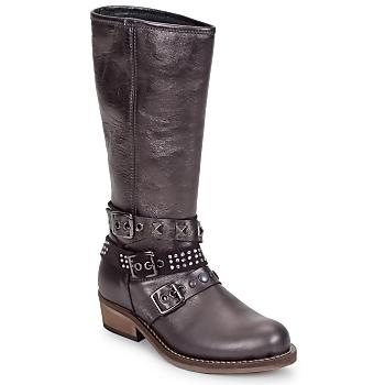 Schoenen Meisjes Hoge laarzen Hip NIEGRA Brown
