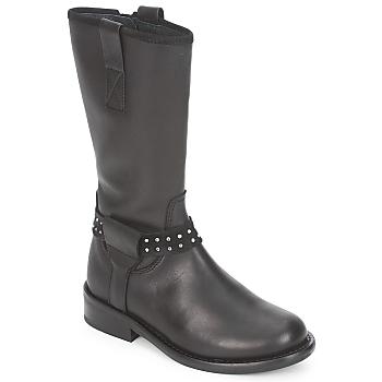 Schoenen Meisjes Laarzen Hip GRABI Zwart