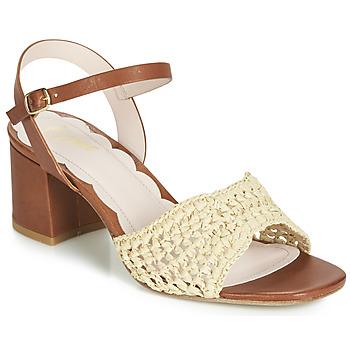 Schoenen Dames Sandalen / Open schoenen Miss L'Fire MIRO Brown