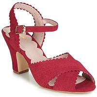 Schoenen Dames Sandalen / Open schoenen Miss L'Fire BEATRIZ Rood