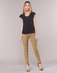 Textiel Dames 5 zakken broeken Armani Exchange HELBIRO Beige