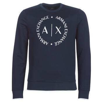 Textiel Heren Sweaters / Sweatshirts Armani Exchange HERBARI Zwart