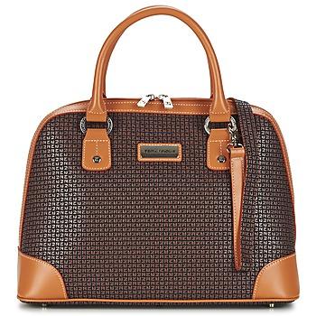 Tassen Dames Handtassen kort hengsel Ted Lapidus FIDELIO Brown / Cognac
