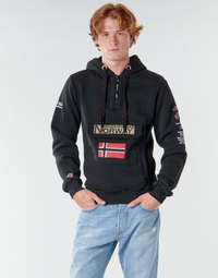 Textiel Heren Sweaters / Sweatshirts Geographical Norway GYMCLASS Zwart