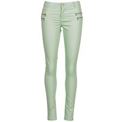 Textiel Dames 5 zakken broeken Noisy May FAME Groen