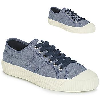Schoenen Dames Lage sneakers Pepe jeans ING LOW Blauw