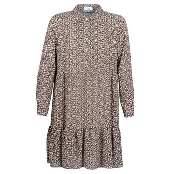 Textiel Dames Korte jurken Betty London JECREHOU Beige / Brown