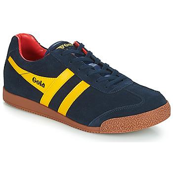 Schoenen Heren Lage sneakers Gola HARRIER Blauw / Geel