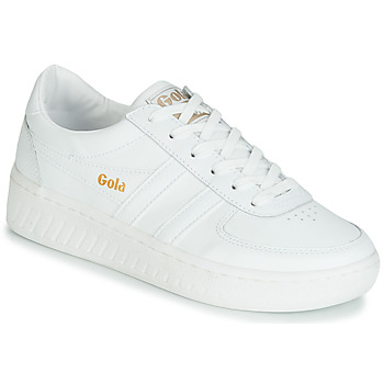 Schoenen Dames Lage sneakers Gola GRANDSLAM LEATHER Wit