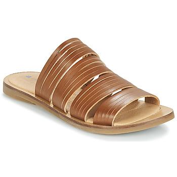 Schoenen Dames Leren slippers El Naturalista TULIP Brown