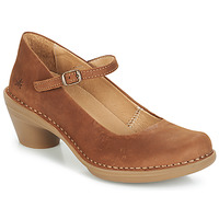 Schoenen Dames pumps El Naturalista AQUA Brown