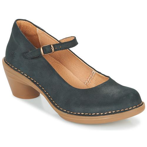 Schoenen Dames pumps El Naturalista AQUA Zwart