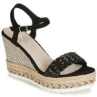 Schoenen Dames Sandalen / Open schoenen Cassis Côte d'Azur CASSANDRA Zwart