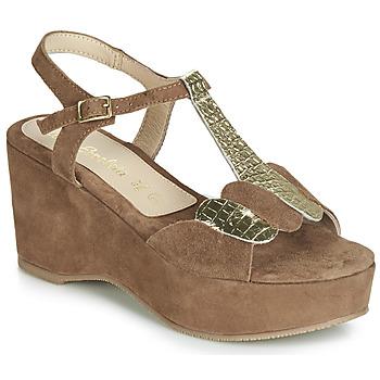 Schoenen Dames Sandalen / Open schoenen Lola Espeleta NAWELLE Brown
