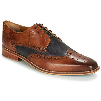 Schoenen Heren Derby Melvin & Hamilton MARTIN 16 Brown / Blauw