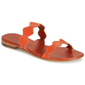 Schoenen Dames Sandalen / Open schoenen Melvin & Hamilton HANNA 46 Orange