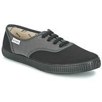 Schoenen Lage sneakers Victoria INGLESA BICOLOR Antraciet
