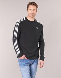Textiel Heren Sweaters / Sweatshirts adidas Originals 3 STRIPES CREW Zwart