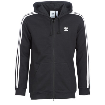 Textiel Heren Sweaters / Sweatshirts adidas Originals 3 STRIPES FZ Zwart
