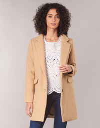 Textiel Dames Mantel jassen Betty London JRUDON Beige