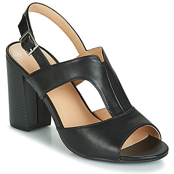 Schoenen Dames Sandalen / Open schoenen Moony Mood JALILIA Zwart