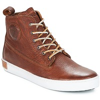 Schoenen Heren Hoge sneakers Blackstone INCH WORKER Brown