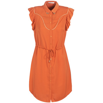 Textiel Dames Korte jurken LPB Woman AZITARTE Orange