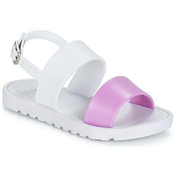 Schoenen Meisjes Sandalen / Open schoenen Be Only ELEA Wit / Roze