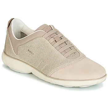 Schoenen Dames Lage sneakers Geox D NEBULA Beige / Creme