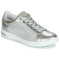 Schoenen Dames Lage sneakers Geox D JAYSEN Zilver