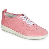 Schoenen Dames Lage sneakers Geox D JEARL Roze