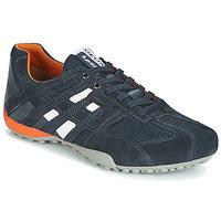 Schoenen Heren Lage sneakers Geox UOMO SNAKE Marine