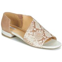 Schoenen Dames Sandalen / Open schoenen Geox D WISTREY SANDALO Beige / Ecaille
